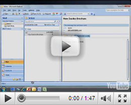 Naming and Saving Emails in eXadox DT Video